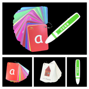 点读笔 + 拼音卡 – E Reading Pen & PinYin Cards